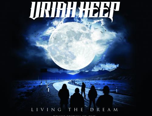 URIAH HEEP auf #10 in den offiziellen Top 100 Album Charts